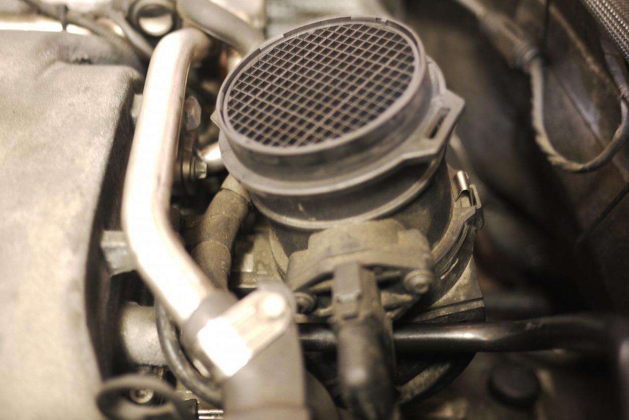 W220 S350 ヒータージョイント交換 ホース交換_d0171835_16234565.jpg