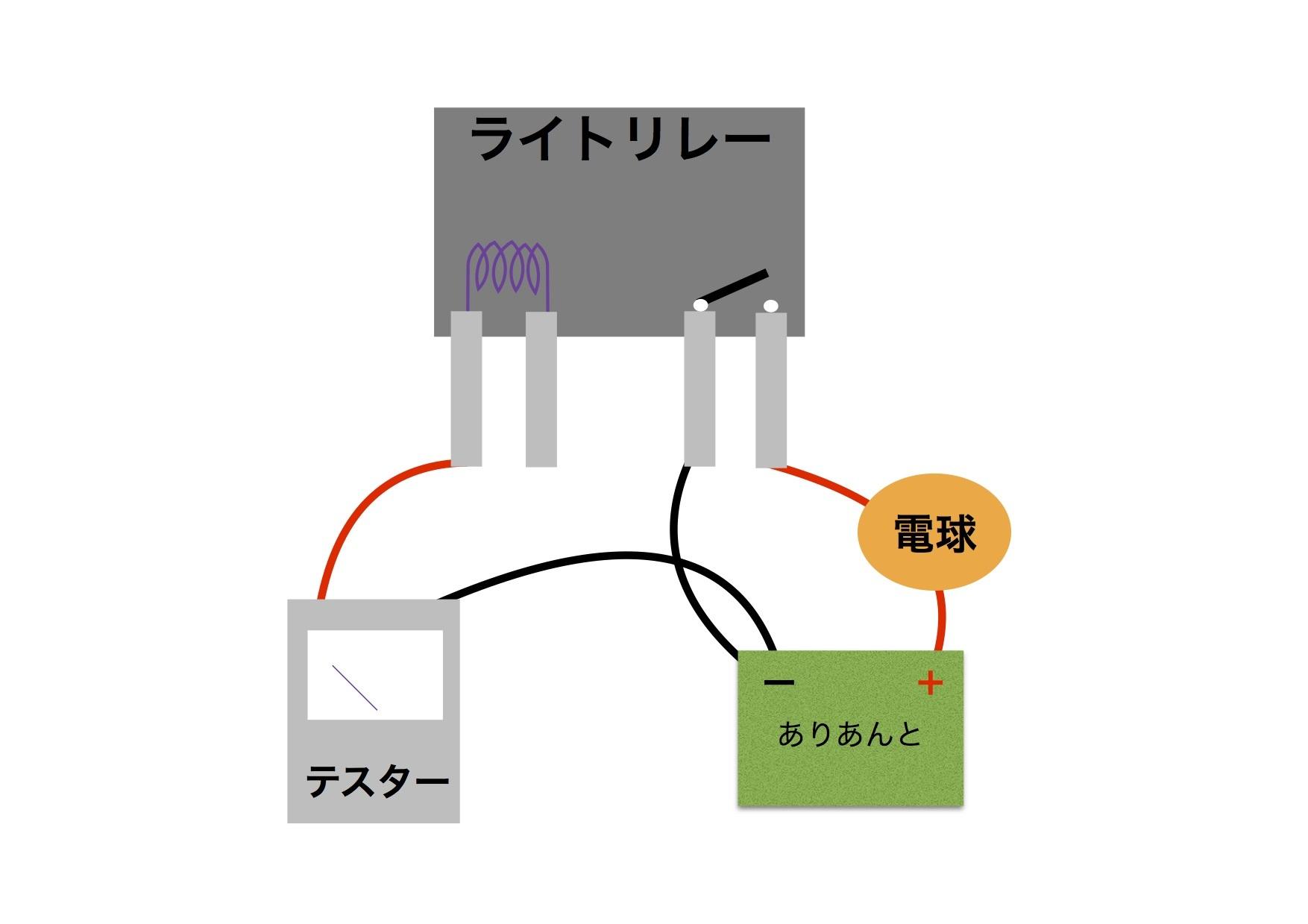 【DB7】サーミスタ回路 ACC電源がアレの件。原因はリレーだ!!_e0159646_04081764.jpg