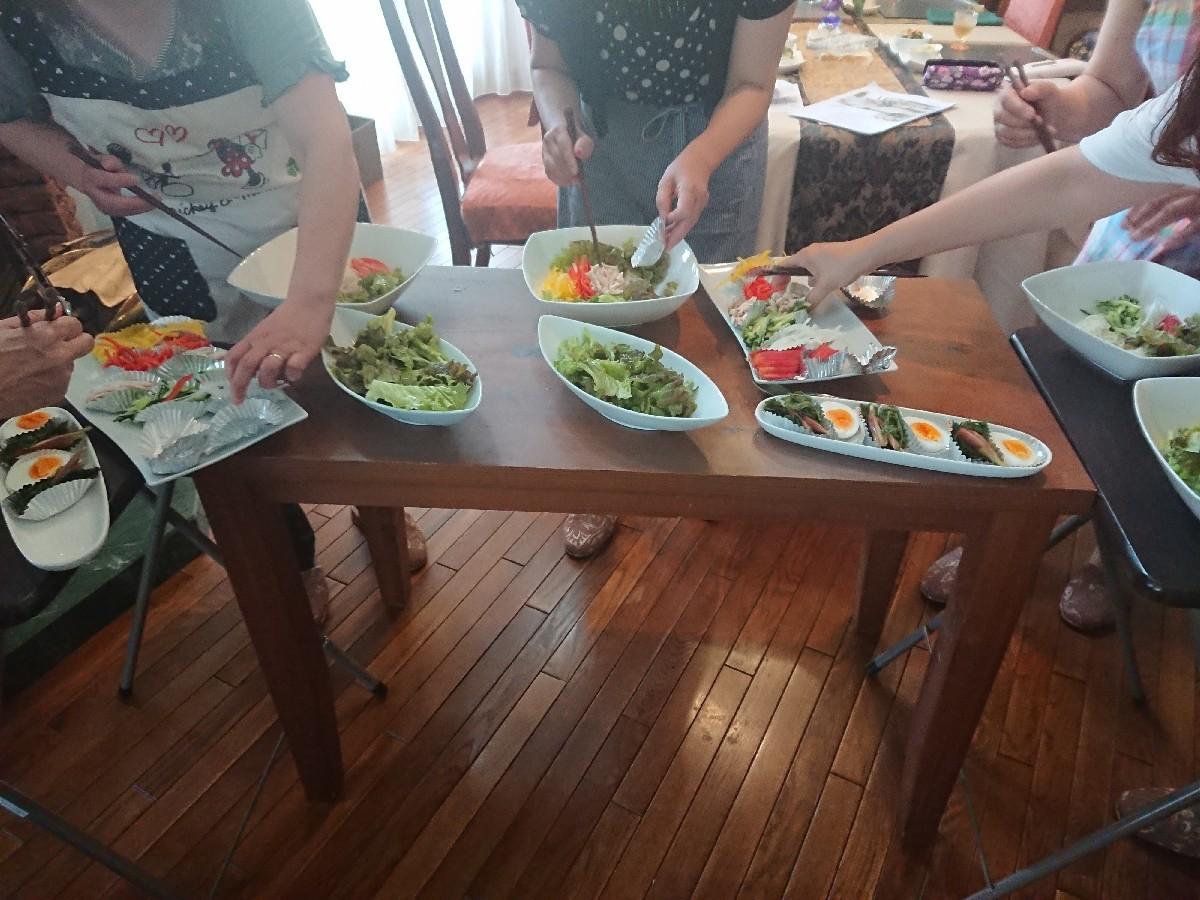 6月の料理教室第4週が終了しました。_f0323446_22580419.jpg