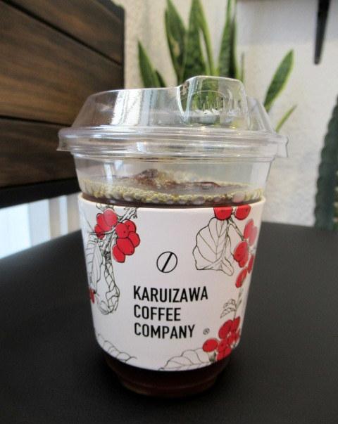 KARUIZAWA COFFEE COMPANY STAND * 白いコーヒーソフトクリーム♪_f0236260_22034778.jpg