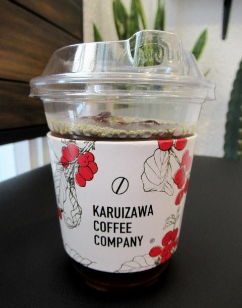 KARUIZAWA COFFEE COMPANY STAND * 白いコーヒーソフトクリーム♪_f0236260_22041006.jpg