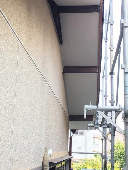 和合 Sさんの家 軒天貼替え工事 ★大工工事_d0205883_18030126.jpg