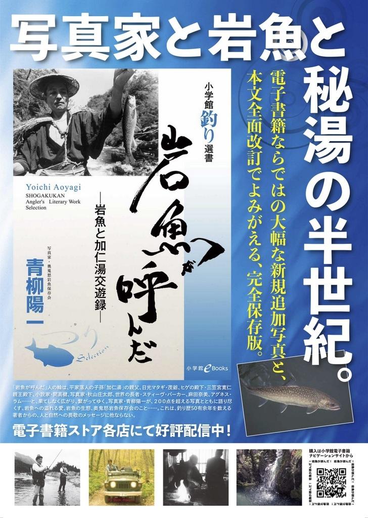 青柳陽一「岩魚が呼んだ」 電子書籍で新発売!_c0180686_16231676.jpg