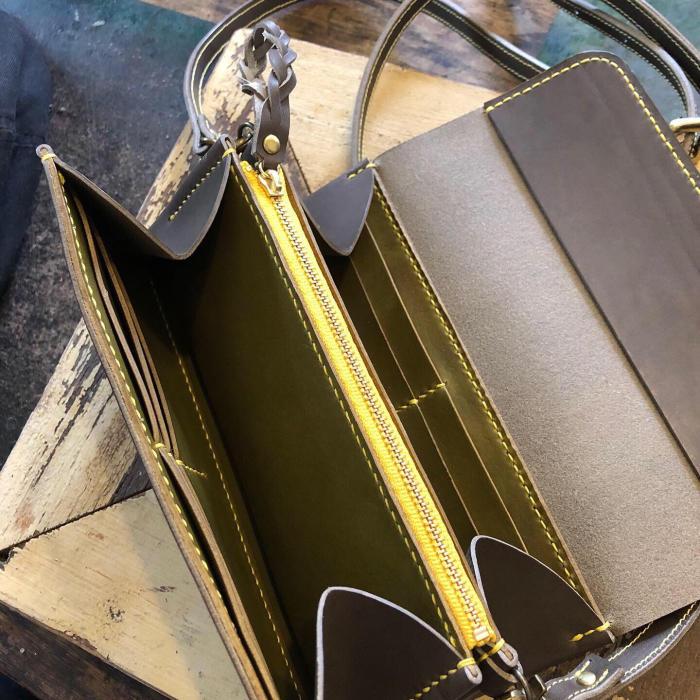 wallet bagのオーダーでした。_f0204989_13225110.jpg