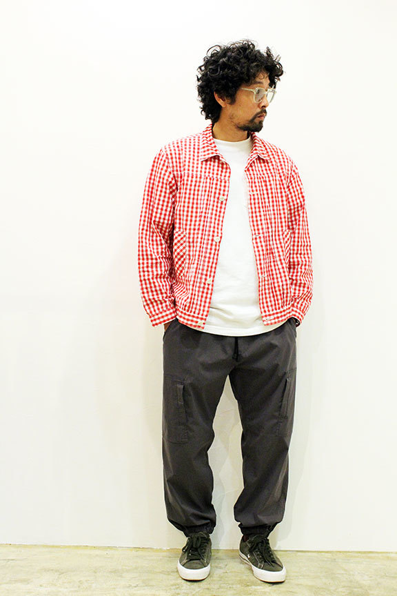 "THE FABRIC (ザ・ファブリック) "" FREEDOM NYLON PANTS \""_b0122806_13393406.jpg"