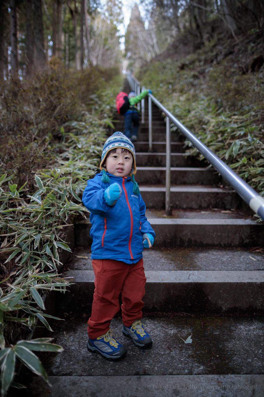 ちびっ子兄弟のチャレンジ春登山「石割山~平尾山」_c0369219_12151871.jpg