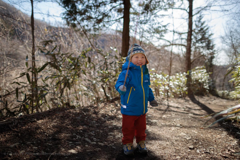 ちびっ子兄弟のチャレンジ春登山「石割山~平尾山」_c0369219_13213869.jpg