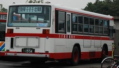 大利根交通自動車のキュービック_e0030537_02390281.jpg