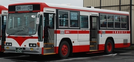 大利根交通自動車のキュービック_e0030537_02390282.jpg