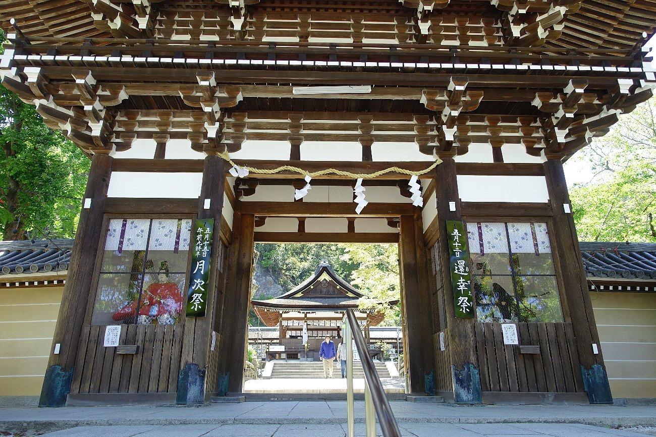 松尾大社 社殿(その1)_c0112559_07315904.jpg