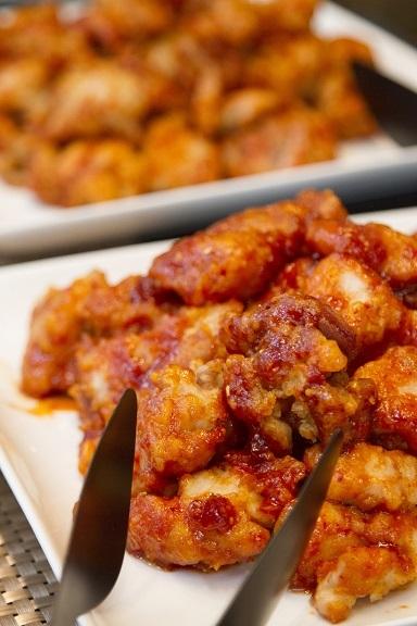 夏のスタミナ料理はヤンニョムチキンで!_b0060363_12542487.jpeg