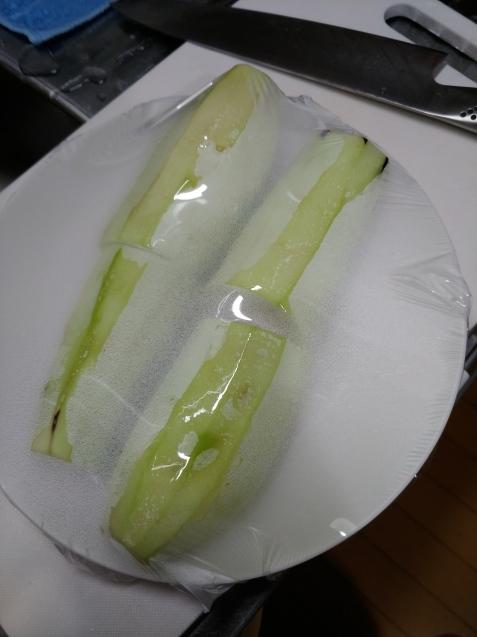 茄子のかば焼き丼・・・手順_c0162773_10382504.jpg