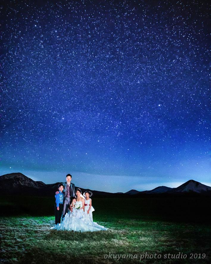 家族みんなで星空フォトウェディング!_c0115401_17362591.jpg