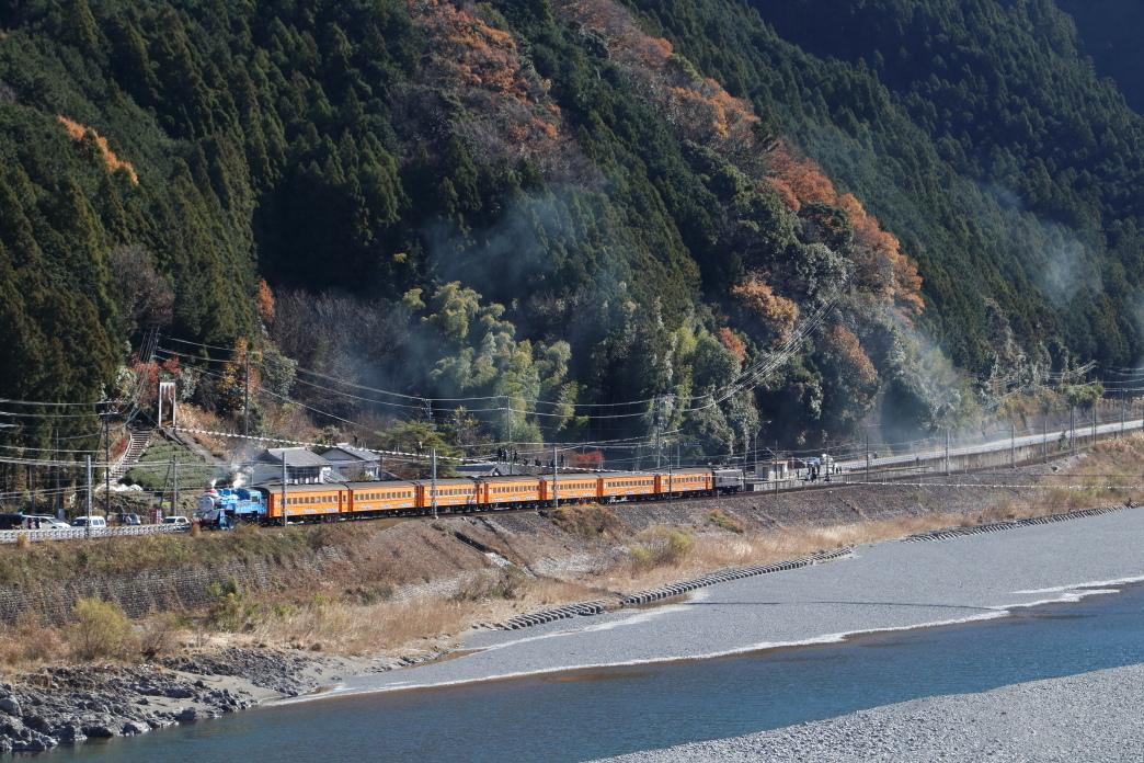 塩郷の吊り橋とトーマスくん - 2017年・大井川鉄道 -_b0190710_17011705.jpg