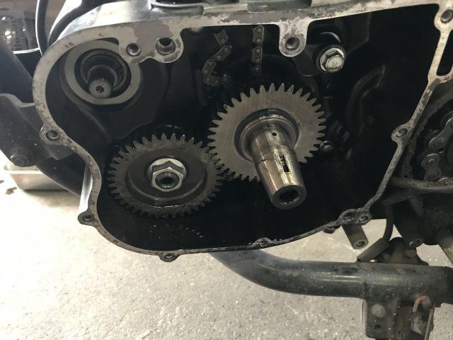 250TR エンジン 腰上 オーバーホール_a0164918_17435739.jpg