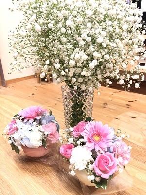 お花が家にあるっていいね♡_c0369433_07291763.jpg