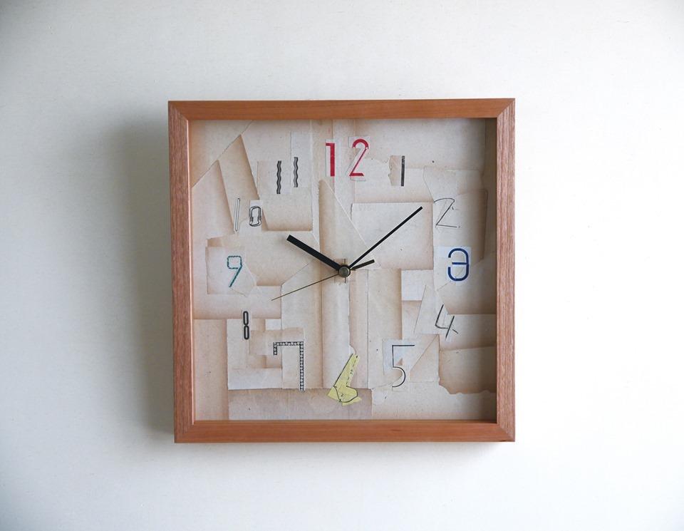 佐藤洋美 展示会 Time Lagの時計/コラージュ×リソグラフポスター 開催のお知らせ_e0031142_19002362.jpg