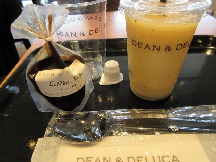【Dean&Deluca】ゴールドキーウィジュースとコーヒーゼリー_b0009849_16491545.jpg