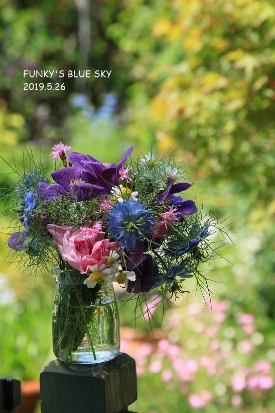 庭の小さなブーケ** (5月26日)_c0145250_11272308.jpg