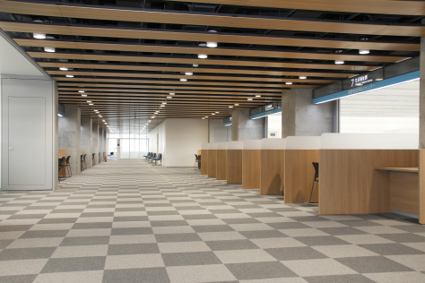 市役所新庁舎が完成 来月1日業務開始_f0237658_14311871.jpg