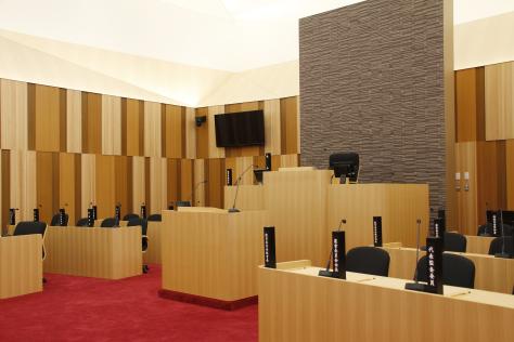 市役所新庁舎が完成 来月1日業務開始_f0237658_14332862.jpg