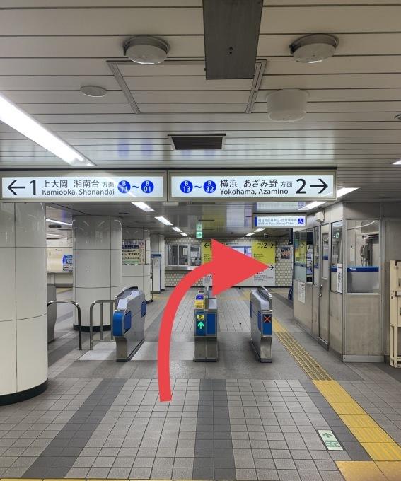 地下鉄弘明寺駅からのアクセス_a0296269_21522553.jpeg