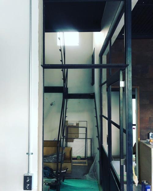 myhome その7 キッチン製作開始!照明器具、エアコン器具取付_c0180474_22123039.jpg
