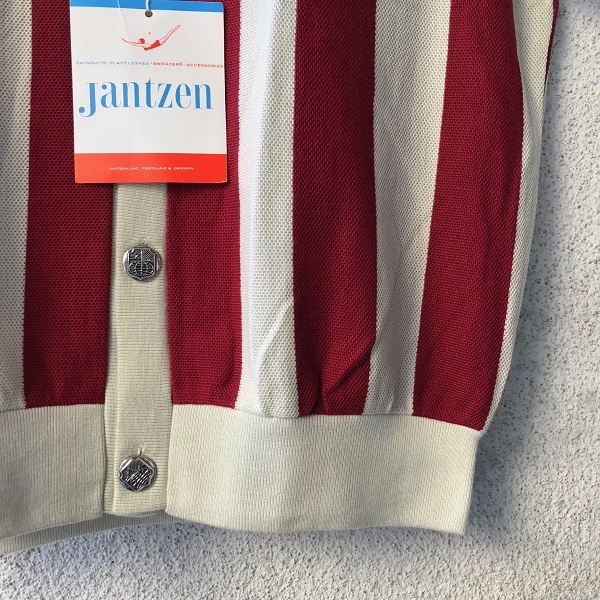 Dead Stock 1960\'s Jantzen Short Sleeve Cotton Summer Cardigan _c0146178_18421019.jpg