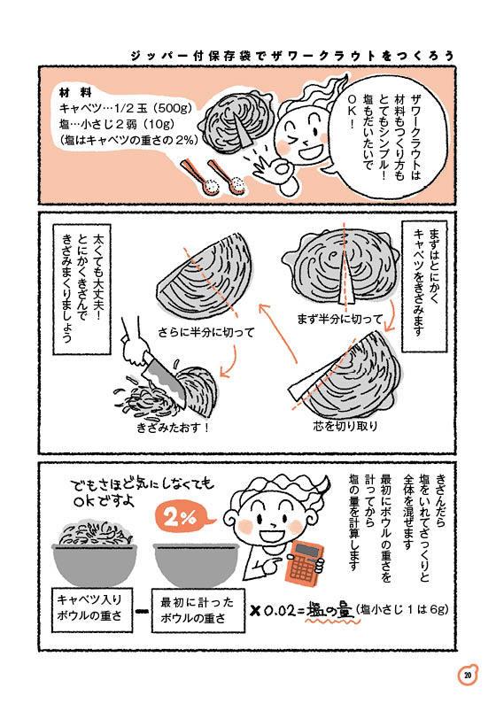 【ゆる菌活 4】ザワークラウト(前編)_c0216405_10042248.jpg