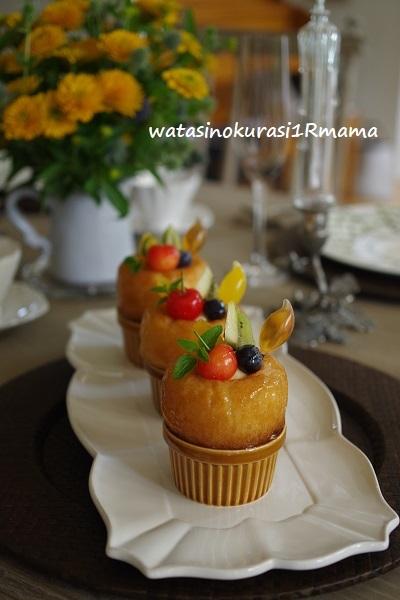 6月お菓子教室  savarin_c0365711_10324174.jpg