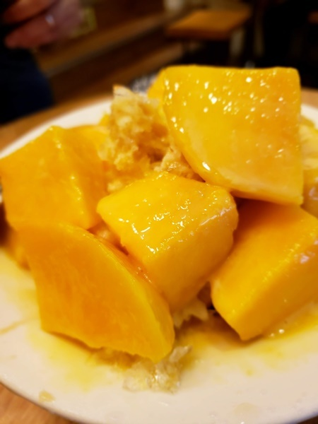 緑豆蒜唅咪でマンゴーかき氷 グリーンワールド南京_a0114319_11191602.jpg