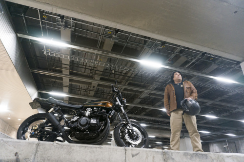 鈴木 義章 & kawasaki 900SUPERFOUR(2018.12.16/TOKYO)_f0203027_13175423.jpg