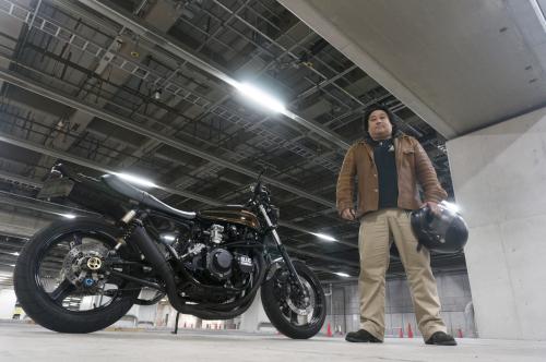 鈴木 義章 & kawasaki 900SUPERFOUR(2018.12.16/TOKYO)_f0203027_13180104.jpg