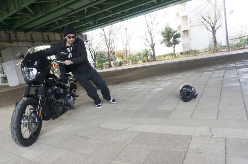 嶋田 昌弘 & Harley-Davidson FXBB STREET BOB(2018.12.12/TOKYO)_f0203027_14314126.jpg