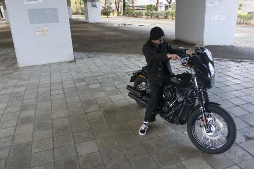 嶋田 昌弘 & Harley-Davidson FXBB STREET BOB(2018.12.12/TOKYO)_f0203027_14320795.jpg