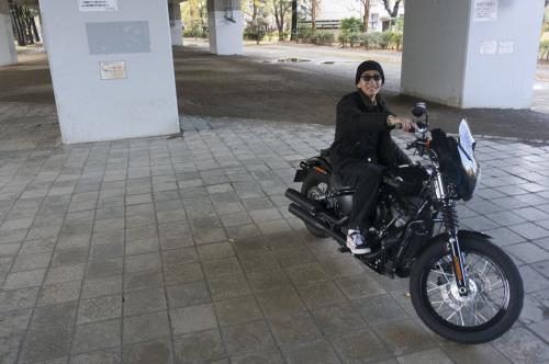 嶋田 昌弘 & Harley-Davidson FXBB STREET BOB(2018.12.12/TOKYO)_f0203027_14321328.jpg