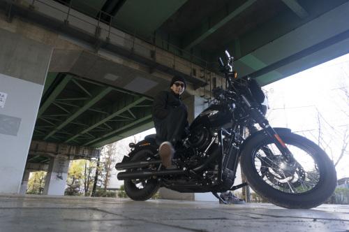 嶋田 昌弘 & Harley-Davidson FXBB STREET BOB(2018.12.12/TOKYO)_f0203027_14322582.jpg