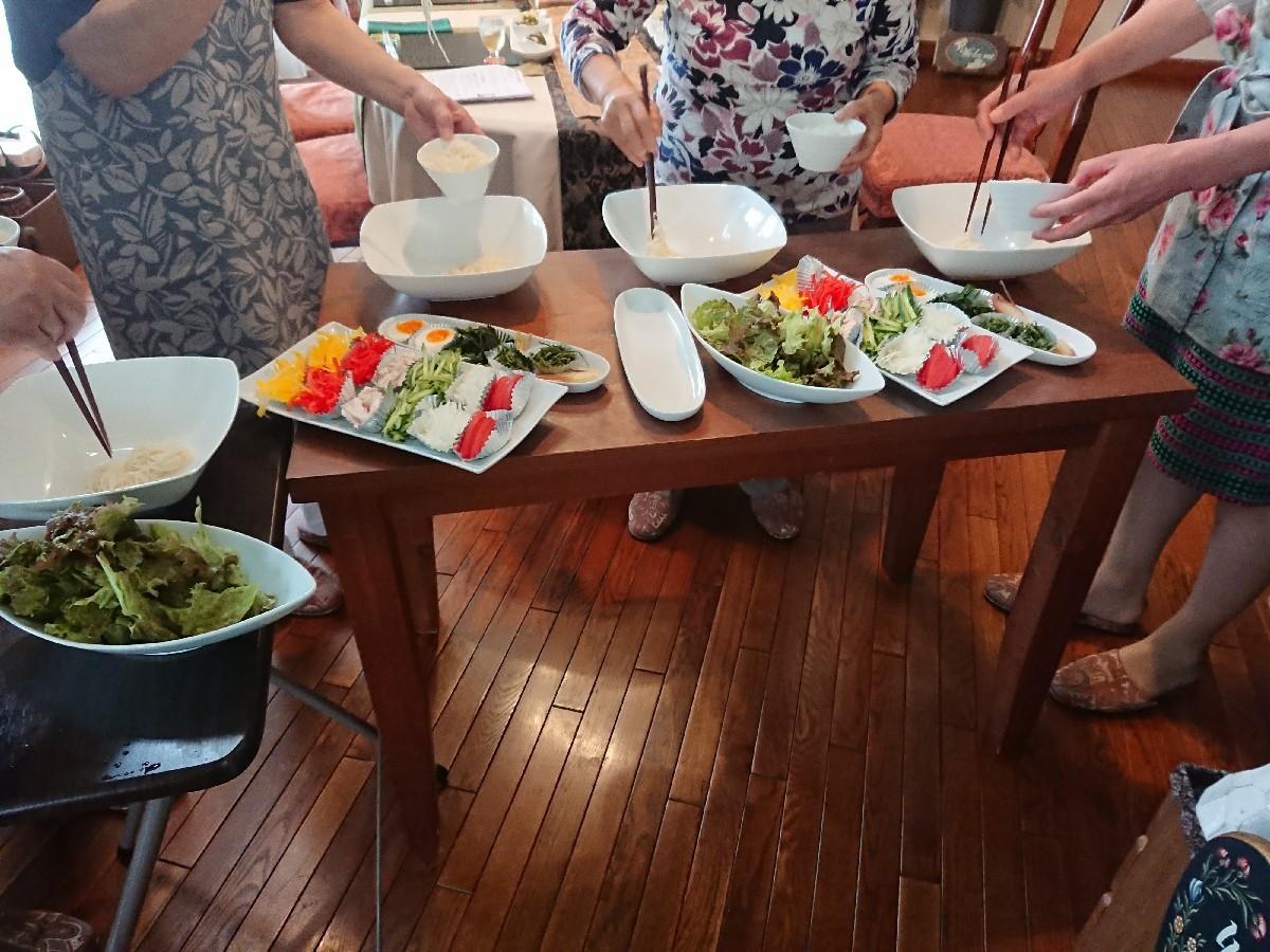 「優しい時間」6月の料理教室が終了致しました✨_f0323446_20035305.jpg