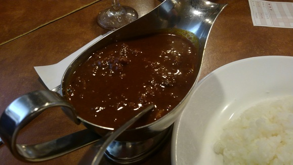 阪急8042Fを見て塚口で特製ビーフカレーを食べる_d0202264_14255693.jpg
