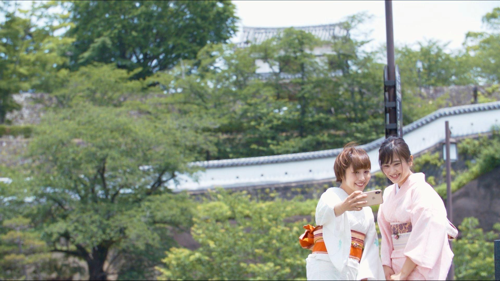 臼杵城下 夏着物で撮影_d0230676_14285073.jpg