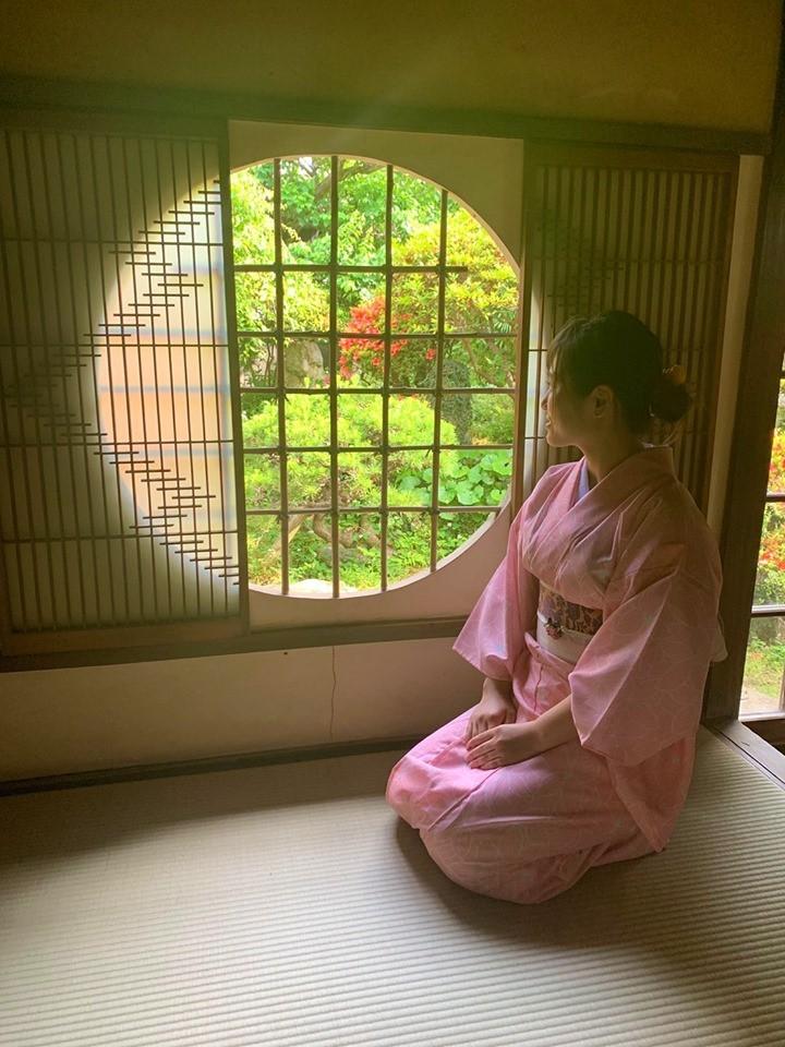 臼杵城下 夏着物で撮影_d0230676_14285429.jpg