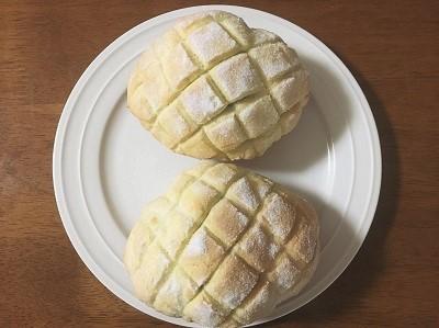 おうち乃が美の生食パンとバターロールでサクサクなメロンパン_f0231189_22061418.jpg