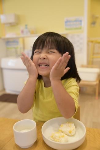 【鶴見】クッキング ~とうもろこしおにぎり~_a0267292_11193854.jpg