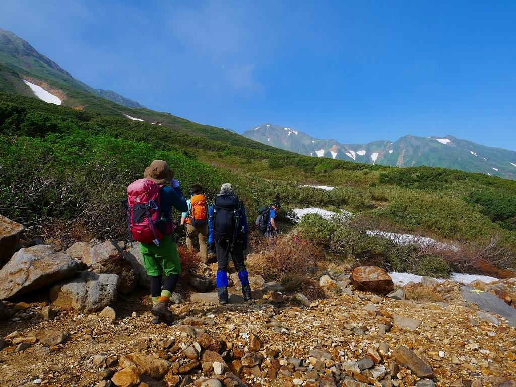 富良野岳、三峰山と上富良野岳、2019.6.24ー速報版ー_f0138096_23001462.jpg