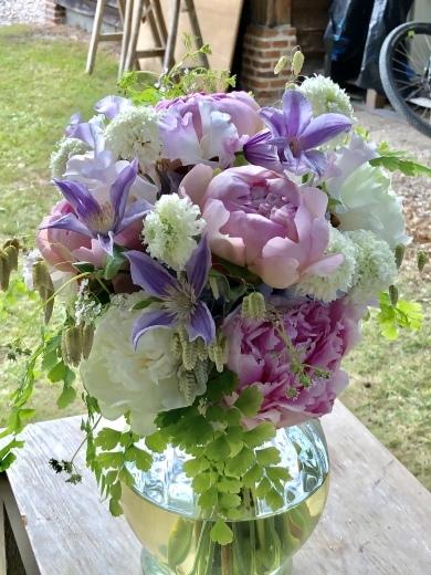 ロワールのウエディング装花①(*˘︶˘*).。.:*♡_a0213806_20310005.jpeg