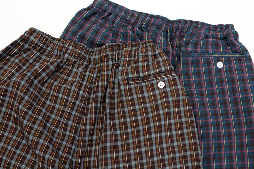 "COMFORTABLE REASON (コンフォータブルリーズン) "" Pile pocket 2tuck Lounge shorts \""_b0122806_12391110.jpg"