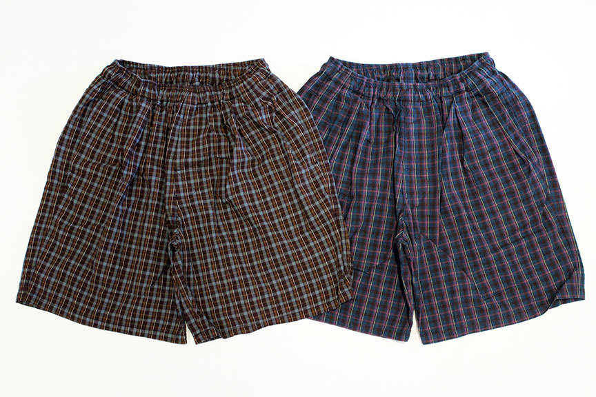 "COMFORTABLE REASON (コンフォータブルリーズン) "" Pile pocket 2tuck Lounge shorts \""_b0122806_12392891.jpg"