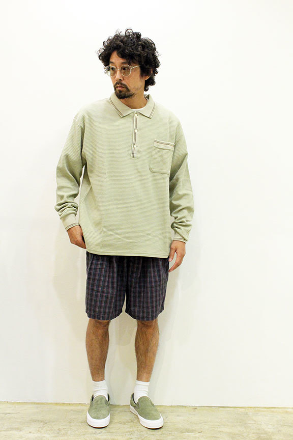 "COMFORTABLE REASON (コンフォータブルリーズン) "" Pile pocket 2tuck Lounge shorts \""_b0122806_12401979.jpg"