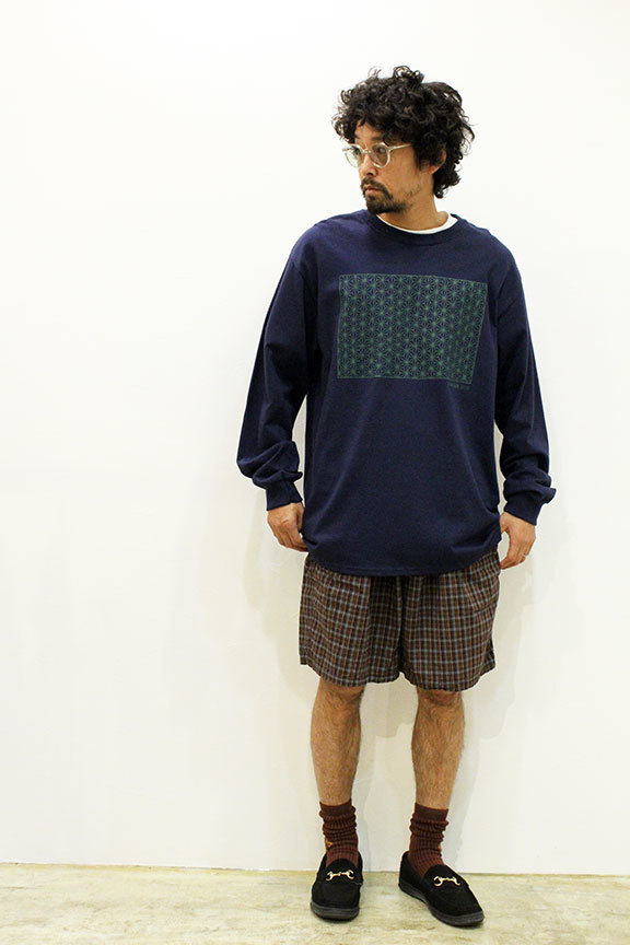 "COMFORTABLE REASON (コンフォータブルリーズン) "" Pile pocket 2tuck Lounge shorts \""_b0122806_12402347.jpg"