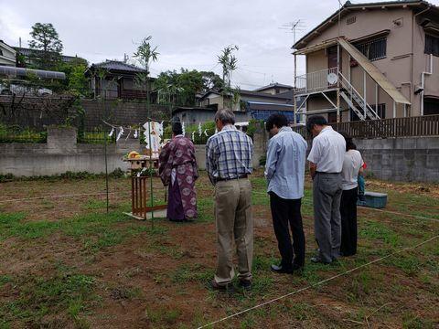土浦市内で地鎮祭を執り行いました。_a0059217_11084045.jpg